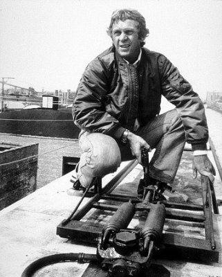 Steve McQueen   The Hunter   1980   as Papa Thorson