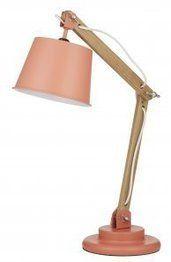 Charlie Desk Lamp Coral