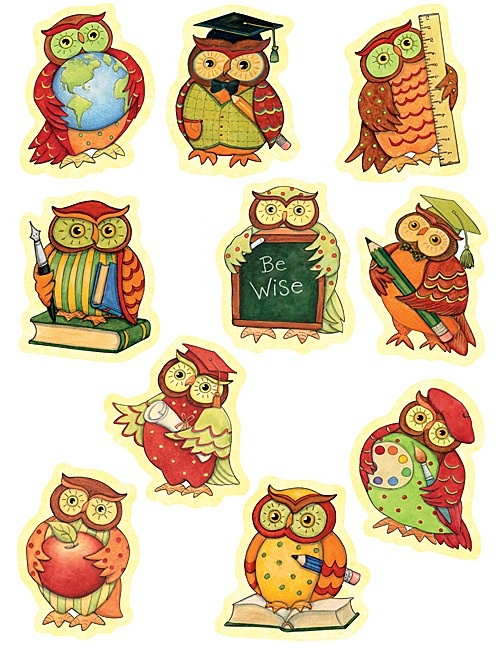 Owl Accents from Susan Winget