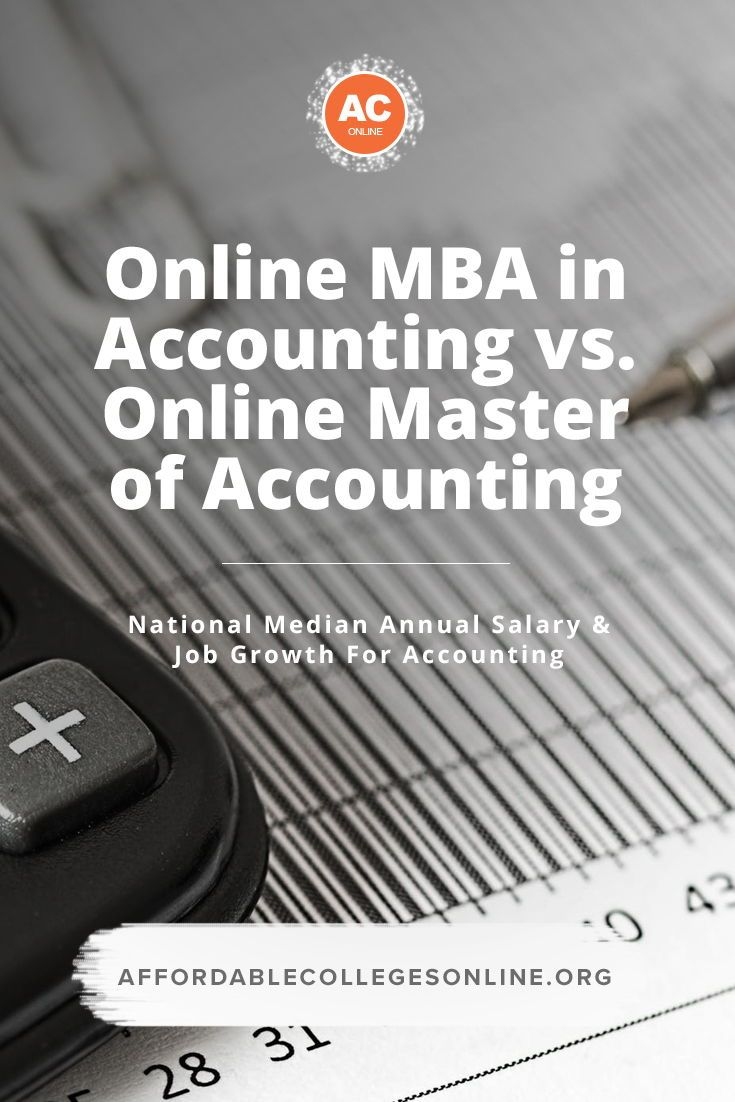 Online Mba In Accounting Better Than A Masters In Accounting Online Mba Mba Mba Degree
