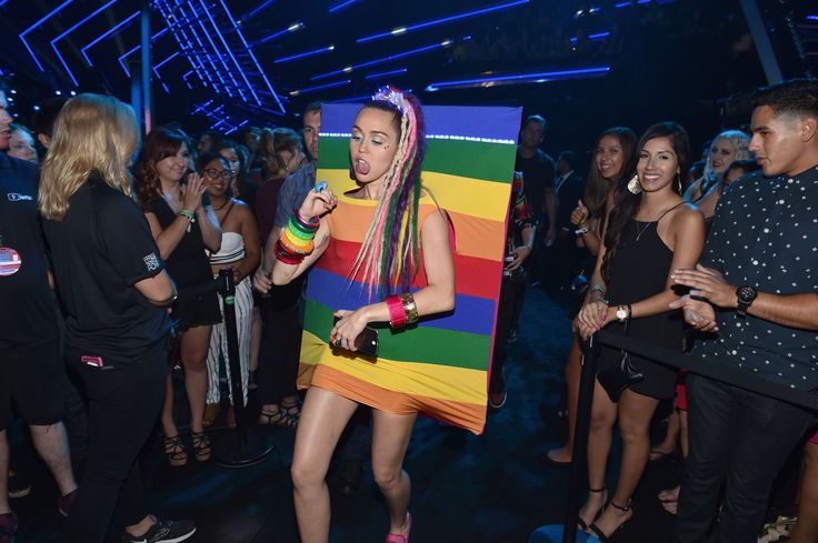See Every Single Insane Miley Cyrus Outfit At The VMAs