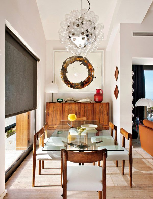 25+ best ideas about Glass dining table on Pinterest | Glass ...