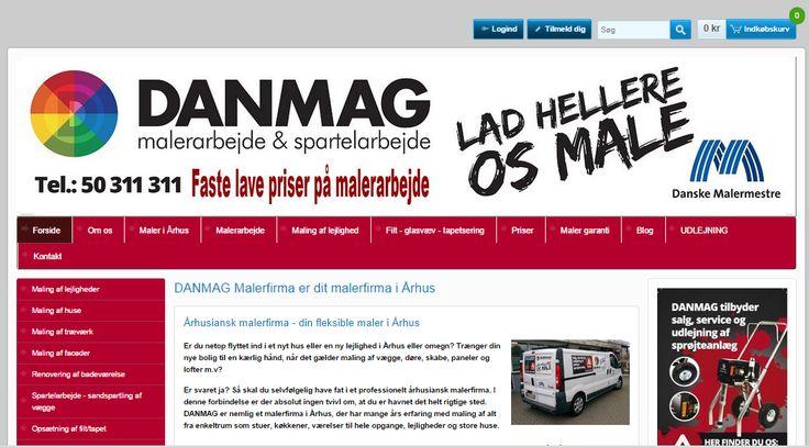 danmag.com - pronájem eshopu a unikátní grafický design