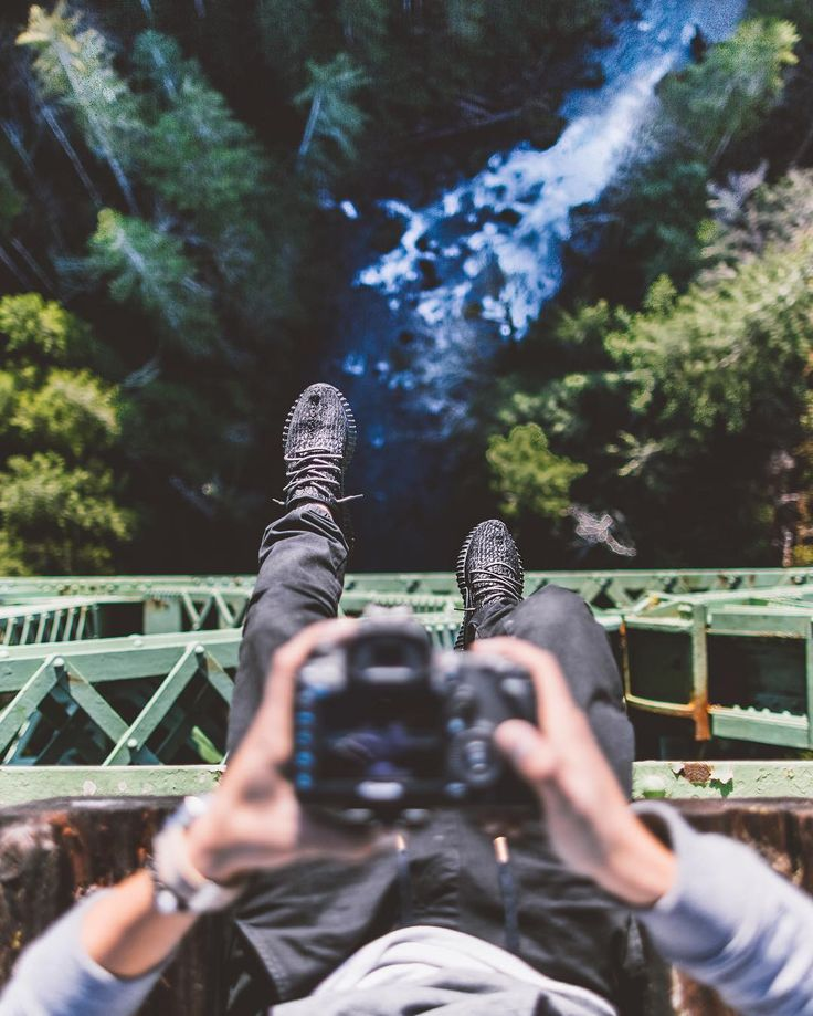 """Looking down on Vance Creek Bridge. by dmalikyar  Use coupon code """"PINME""""  for 40% off all hammocks on maderaoutdoor.com"""