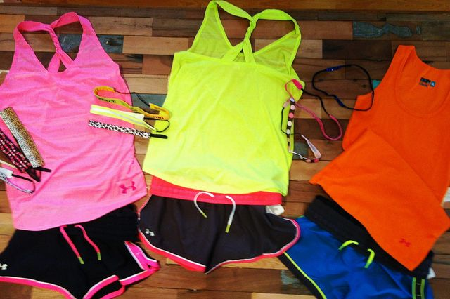 Under Armour and super cute to run in.... if this isn't motivation then I don't know what is. :)