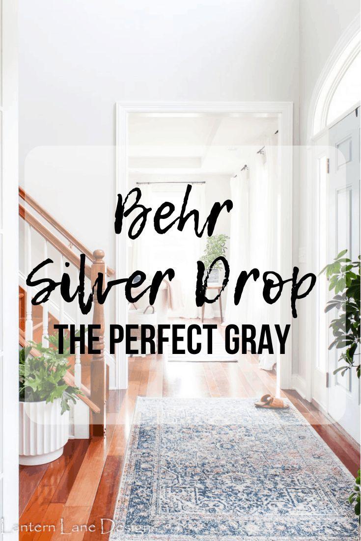 Behr Silver Drop The Prettiest Paint Color Behr Paint Colors
