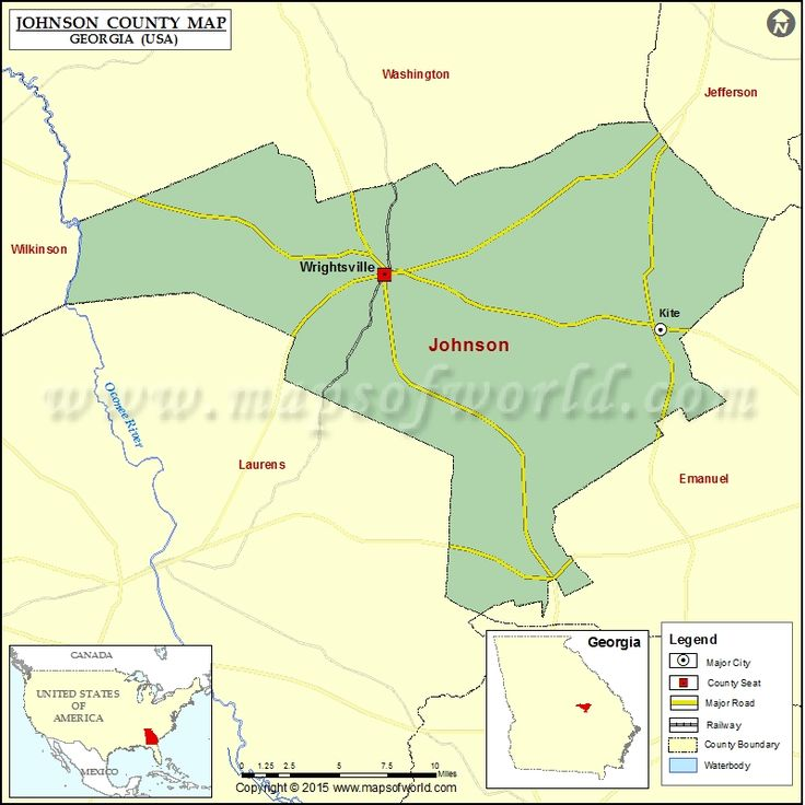 68 Best County Map Images On Pinterest Maps And Mountains: Map Of Jefferson County Georgia At Usa Maps