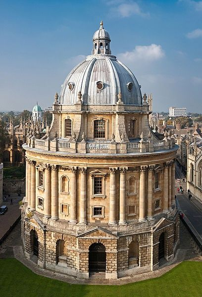Bodleian Library, Oxford ~ One of my favorite buildings in the world!