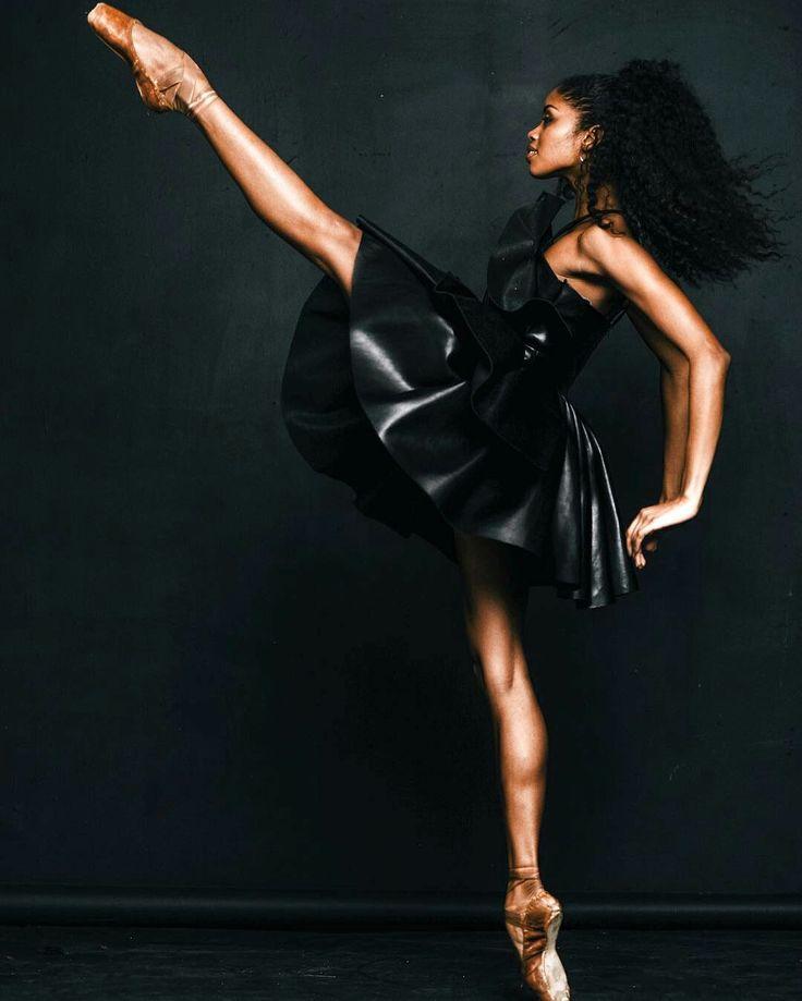 Ballerina Nardia Boodoo - The Washington Ballet - Photo by Richard Wolf Photography