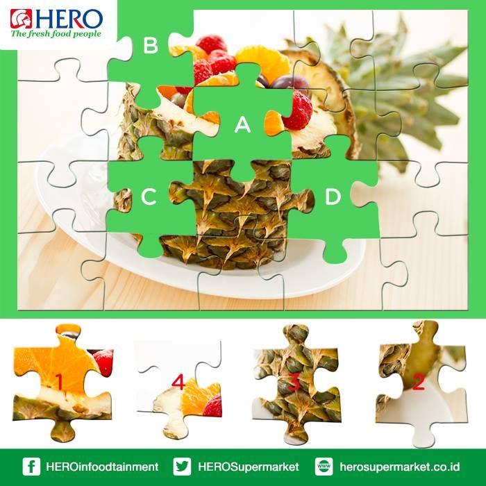 Sambil menikmati suasana santai hari ini, coba Fresh People cocokan Puzzle ini dengan tepat smile emoticon Let's play ! #FunTime