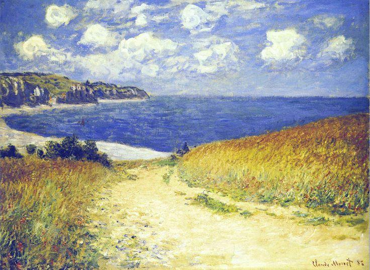 AlleynearPourville - Claude Monet