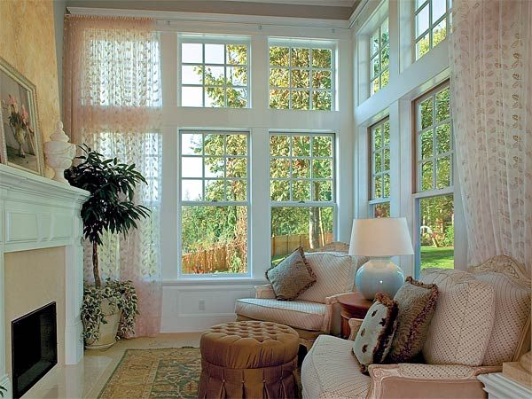 Pin By Himne Drees On Exterior And Windows Living Room