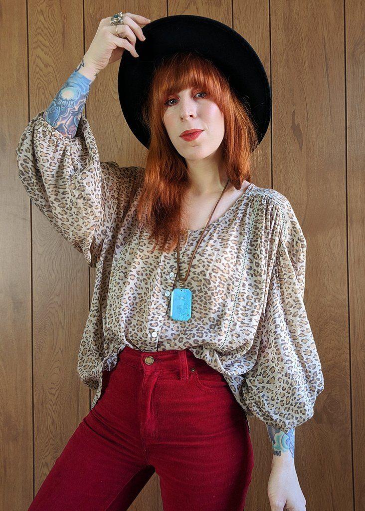 a41ad3a56fe8b1 Frankie Blouse in 2019 | SHOPBLACKSALT.COM | Bohemian blouses, Spell ...