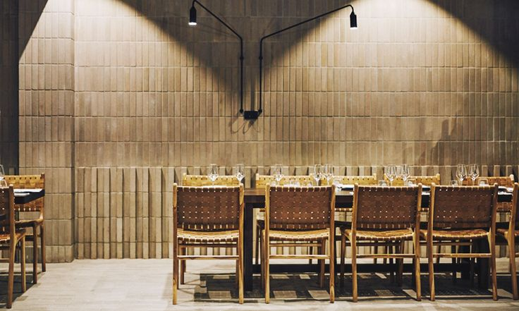 Antica Pizzeria, Adelaide featuring the Tanner Dining chair in Tan   Barnaby Lane.  Design Genesin Studio, Image Brendon Homan for CityMag.