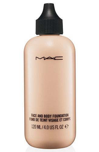 MAC Face and Body Foundation: On it's own for a no makeup look or pressed on top of foundation for a flawless finish!