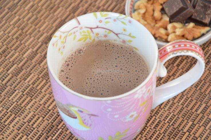 Chocolademelk, zuivelvrij en suikervrij - HAPPYHAN
