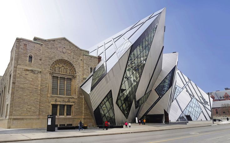 Named the Michael Lee-Chin Crystal, this steel-clad addition to the Royal Ontario Museum in Toronto was completed in 2007. The stunning structure contains exhibition space, an atrium that serves as a visitor entrance, a gift shop, and three restaurants within its crystalline form. Studio Libeskind also renovated an additional ten galleries in the museum's old building as part of this project.