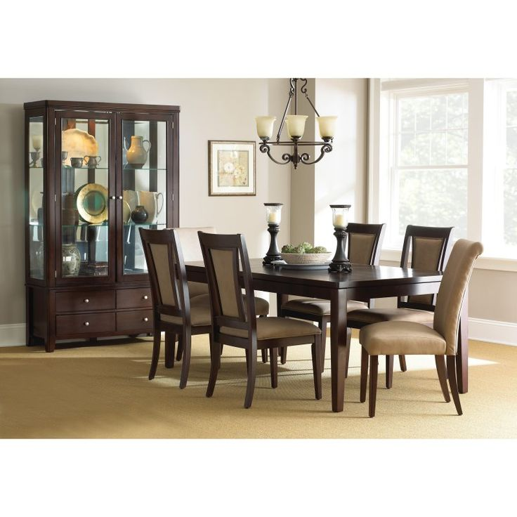 Steve Silver Wilson 7 Piece Dining Table Set