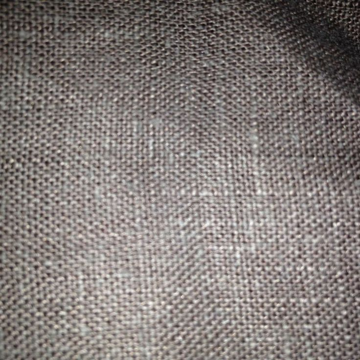 Brown linen fabric