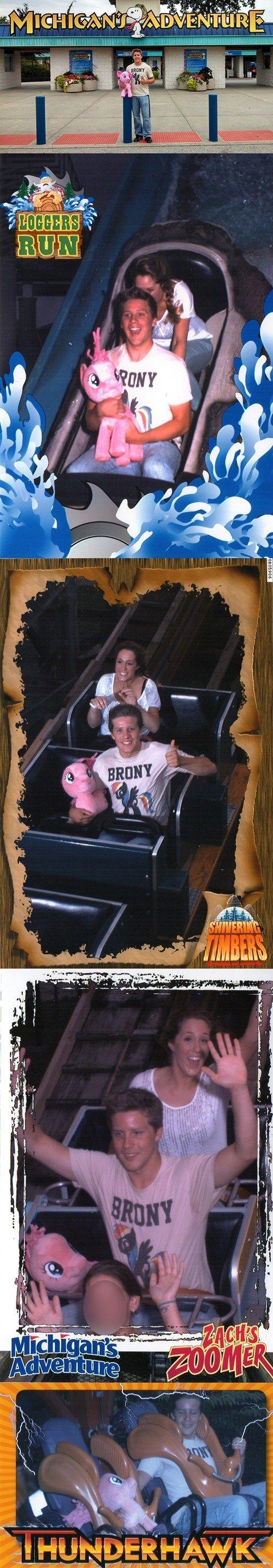 Pinkie Pie Loves Roller Coasters! - Cheezburger