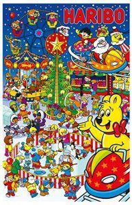 Haribo Adventskalender, 1er Pack (1 x 300 g)  Lieferumfang:1 Haribo Weihnachts Fruchtgummi, Adventskalender, 24 Winter Ãberraschungen, 300 g , Haribo macht Kinder froh….und Erwachsene ebenso! Dieses Motto gilt trifft auch im Winter zu. Egal ob an Weihnachten oder an kalten Wintertagen, schenken Sie sich und Ihren Liebsten etwas leckeres aus der Haribo Winter Kollektion. Lassen Sie sich vom Haribo Adventskalender Ãberraschen. Hinter jeder TÃr steckt eine kleine KÃstlichkeit und hinter..