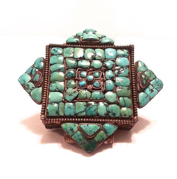 19th c. Tibetan Gau
