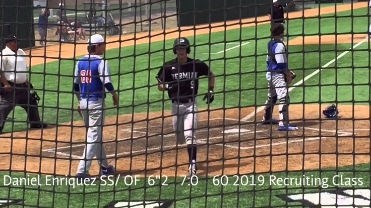 Daniel Enriquez 2019 Baseball Prospect Permian High School  2019 College...