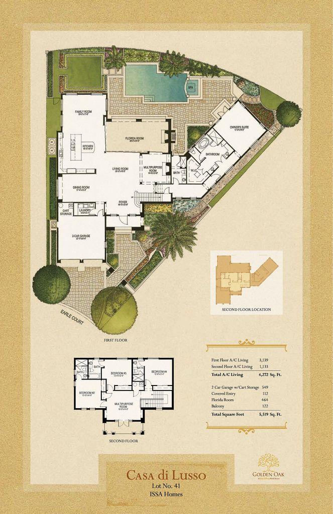 """Casa di Lusso"" at Disney's Golden Oak"