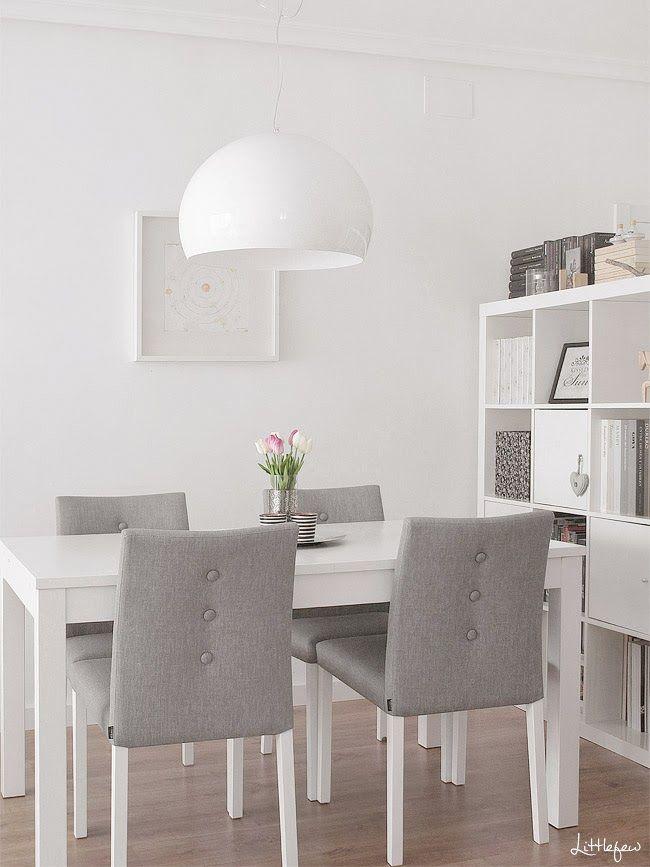 """Littlefew Blog: KARTELL · """"FLY"""" LAMP me gustan los botones de las sillas alineados"""