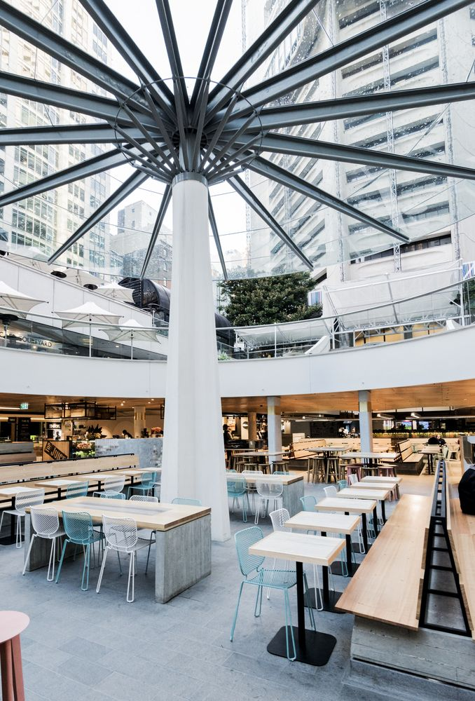 Gallery of MLC Centre Food Court / Luchetti Krelle - 12