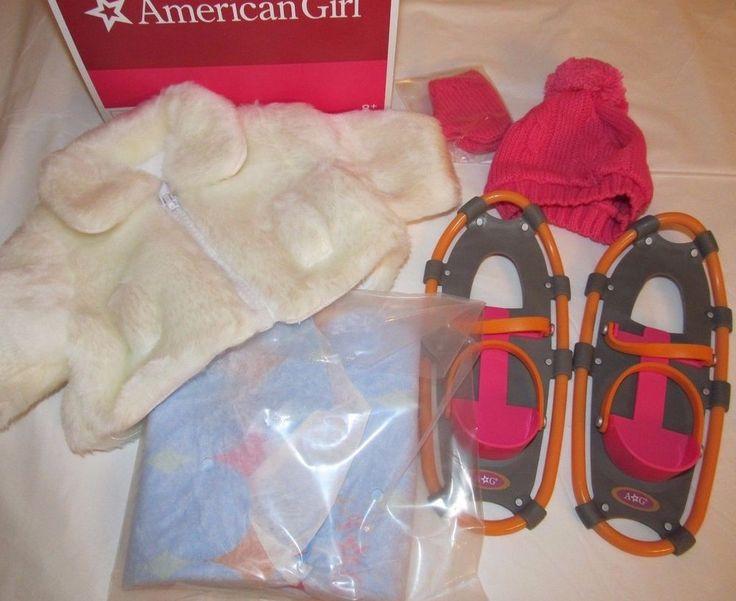 American Girl Chrissa's SNOW GEAR + FUR Jacket_Winter Accessories Lot_NEW_SALE #AmericanGirl