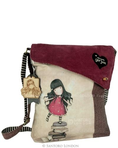 Gorjuss Wool Shoulder Bag