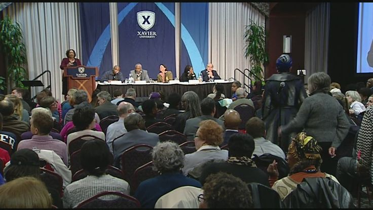 Watch: Xavier U. town hall meeting on 15 years after Cincinnati riots