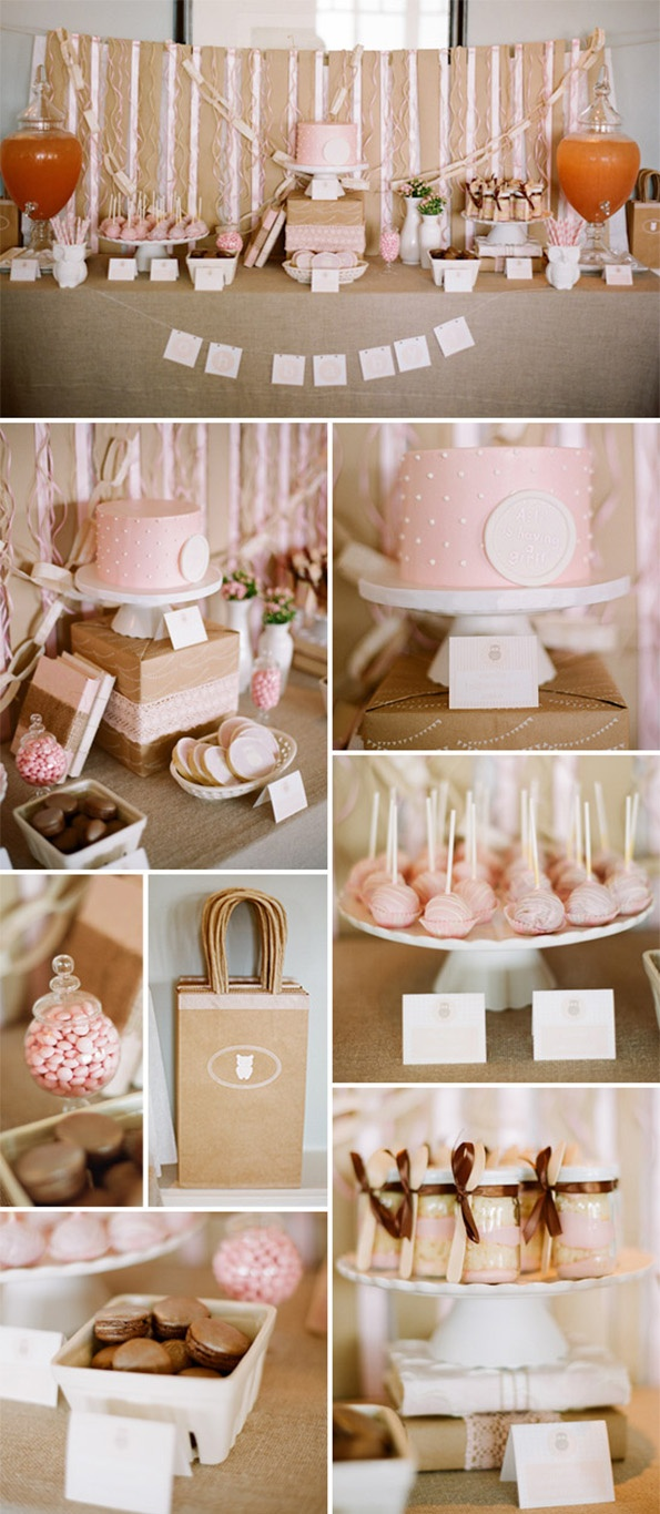 I love the cake with the dots. I would have the color be a mint/sea green.