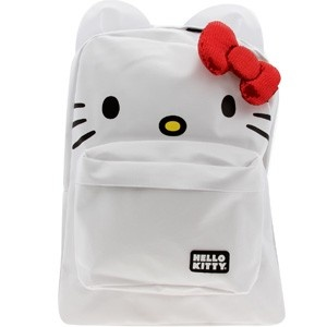 White Hello Kitty BackpackAccessories Hello, Accessories Sanbk0015, Bows Backpacks, Kitty Red, Helloooo Kitty, Hello Kitty Backpacks, White Hello, Backpacks White, Red Bows