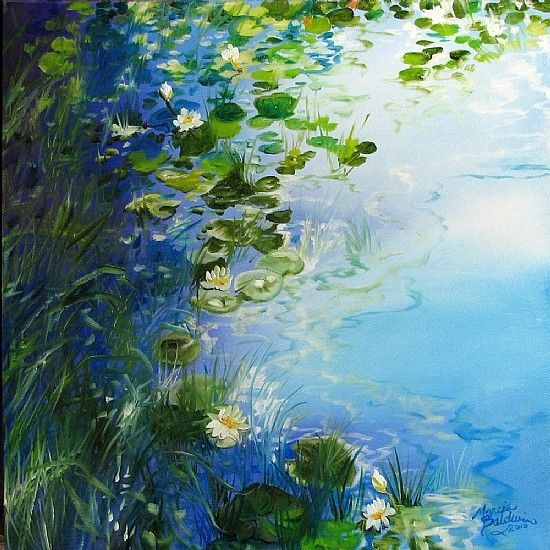 Famous Paintings Of Nature | Great Oil Paintings of Nature by Marcia Baldwin | Art of Day