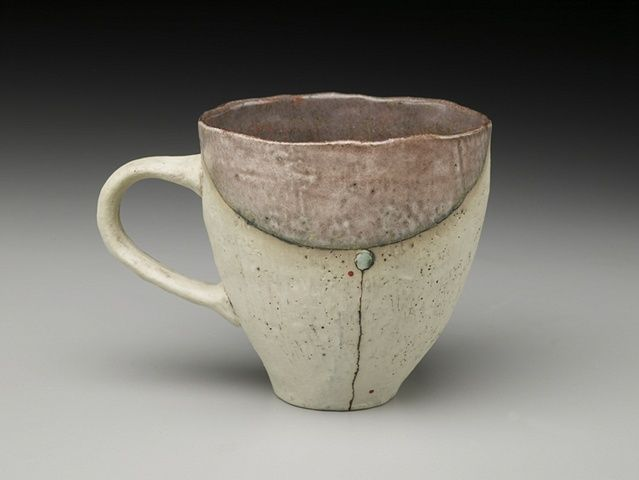 Natalie Tornatore  Meeting Point Mug Pinch pot cups  my favorite cups for tea or coffee with grand girl