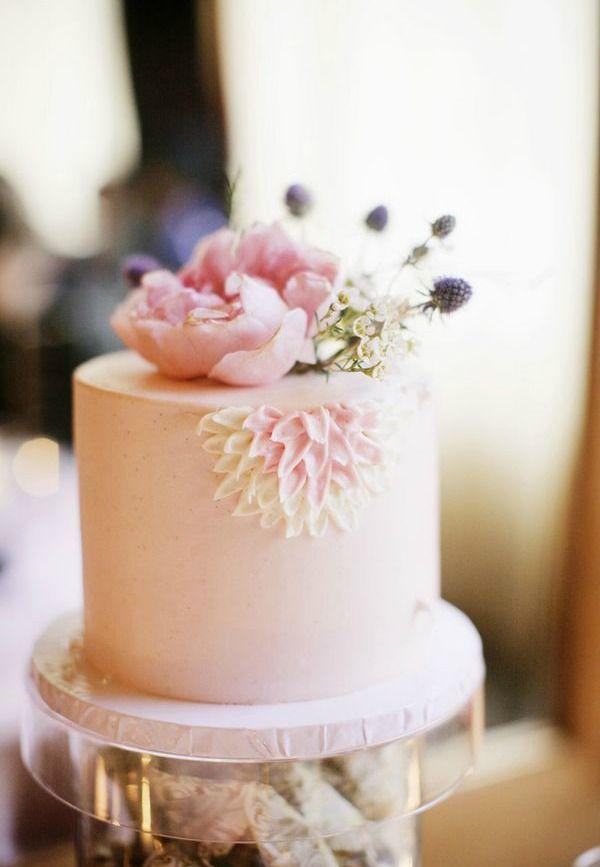 17 Best Ideas About Single Tier Cake On Pinterest
