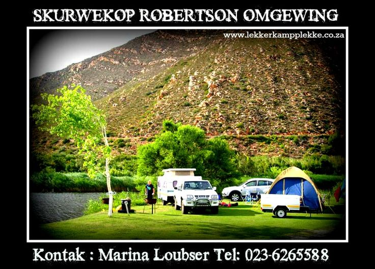 Skurwekop - Robertson   www.lekkerkampplekke.co.za