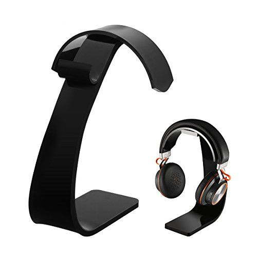 buy now   £19.98   Product information:  Material: Acrylic Color: black  Features:  Stylish headphone stand Music fans know it: Only with a good headphone you can enjoy your favorite songs.  ...Read More