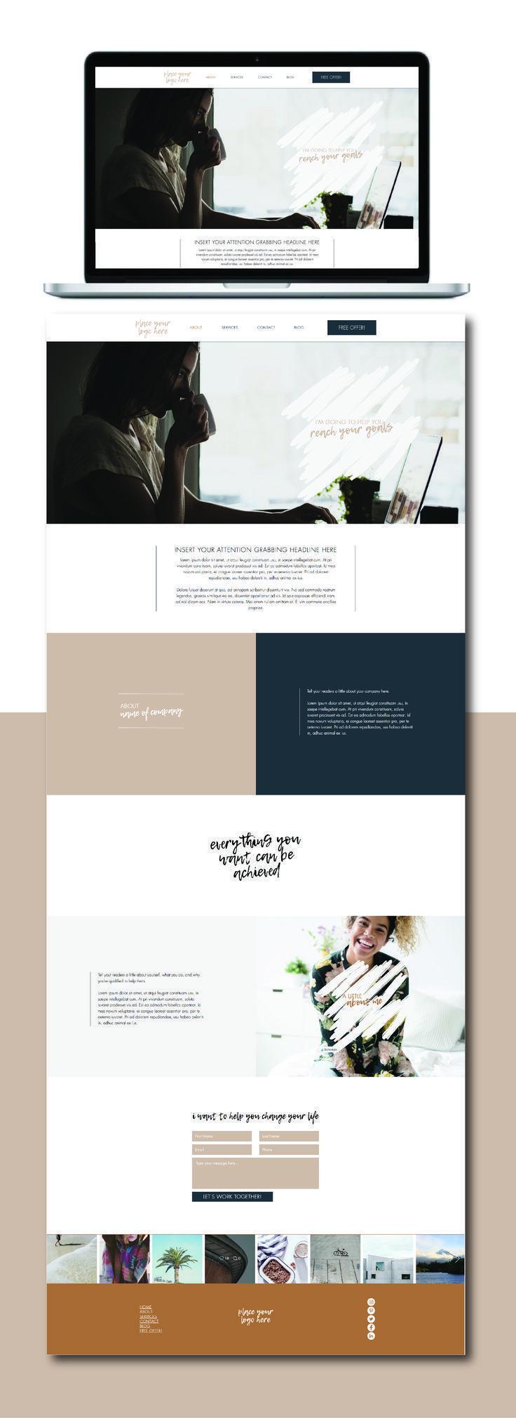Website Design Website Template Web Design Wix Website Ideas Diy Your Own Websit Wix Website Templates Wix Website Design Small Business Website Design