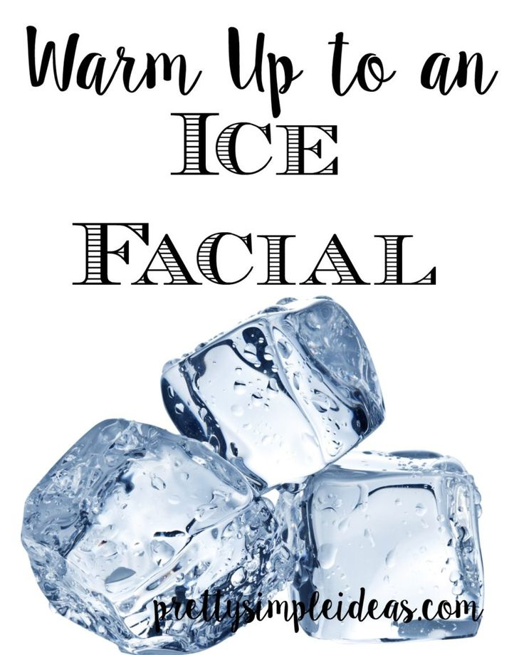 Why Ice is good for your skin!