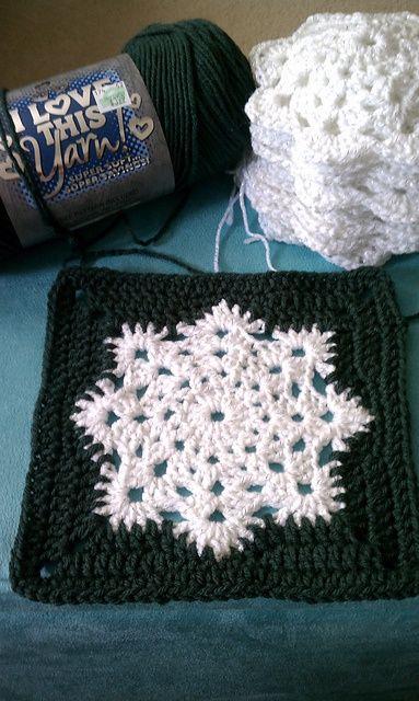 Snowflake Granny Square.