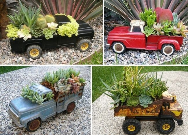 10 Terrific Garden Planter Ideas with Wheels - http://www.amazinginteriordesign.com/10-terrific-garden-planter-ideas-with-wheels/