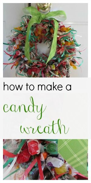 how to make a candy wreath #vlog #gifts --> totally making this for kids' teachers this year!