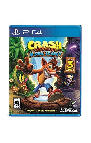 Crash Bandicoot N. Sane Trilogy - PlayStation 4 Standard ... https://www.amazon.com/dp/B01NAGTKX3/ref=cm_sw_r_pi_dp_x_wLolzbW7Q1E4E