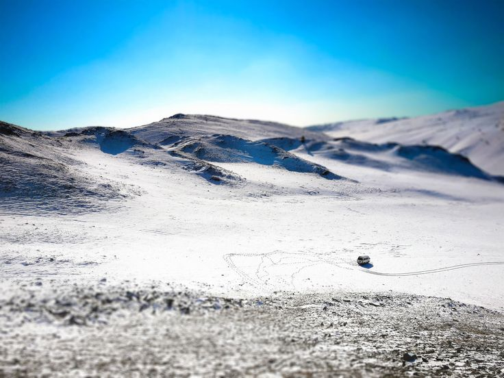 Let´s go and see Lake Baikal.  Crunchy snow under the sole —  Heavy breathing   from climbing the hill.    #sibiria #baikal #snow #winter #winterscenery #tracks #russia #cold   #landscape #tiltshift #beautiful #winterday #magical #outdoor #hiking