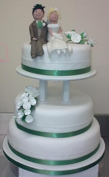 3 Tier Wedding Cake Ideas On Wedding Cakes With Tier Cake Simple  17 #131 The best Wedding image gallery ideas in the world  | kibuck.com