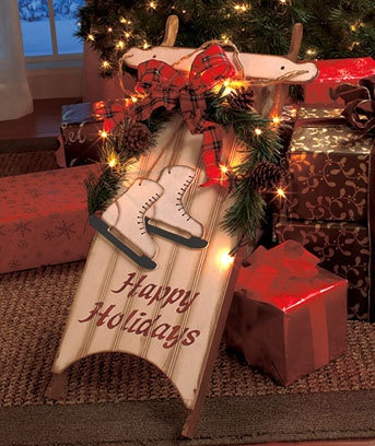 Well-known 65 best Christmas Sleighs images on Pinterest | Christmas deco  JJ95