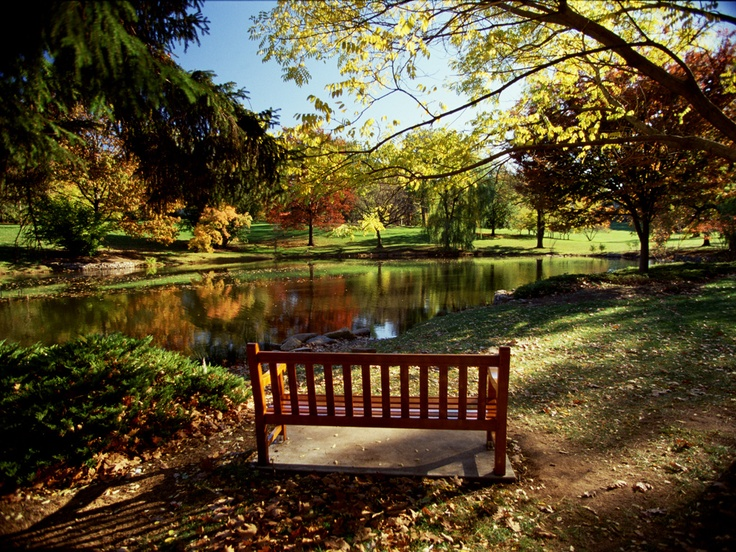 Oh to just sit in a park on a bench and relax...New Brunswick, New Jersey